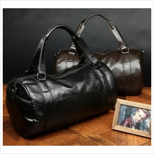 Men Women Soft PU Leather Travel Hand Carry Bag Baggage Luggage