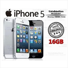 Original APPLE iPhone 5 16GB Black   White New IMPORTED Seal Pack 2ae1e995d8