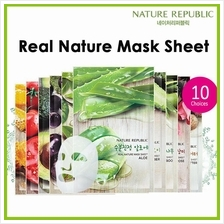 Nature Republic Real Nature Mask Sheet 23ml Aloe TeaTree Olive Rose