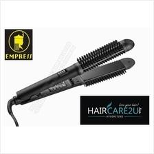 Empress 828 2 in 1 Curling & Straightening Hair Brush Iron