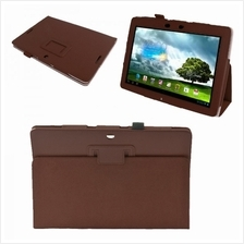 Lichi Texture Leather Case for ASUS MeMo Pad Smart 10 ME301T (Brown)