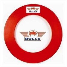 Dartboard Surround - BULL''S - Heavy duty EVA Board Ring - Red