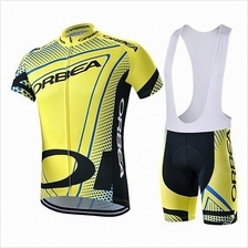 14a6364dd Men Short Sleeves Bicycle Bike Cycling Orbea Jersey Shirt + Trouser Se