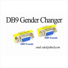 DB9 9 pin female/female mini gender changer Male to Female RS232 RS422 RS485