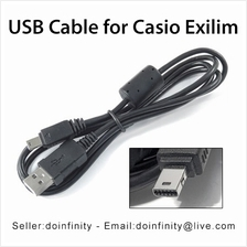 Casio Exilim Camera 12 Pin USB Data Sync Charge Cable Cord FC TR Z ZR