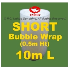 SHORT BUBBLE WRAP 50cm x 10m L GRADE A Plastic Packing ONLINE PROMO