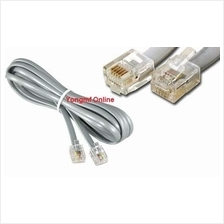 RJ11 6P4C 4 Pin Telephone  ADSL Modem Line Cord Cable (CP-C-185)