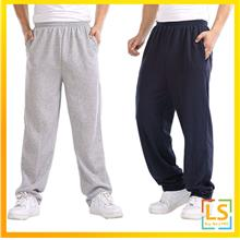 Plus Size Men Cotton Loose Casual Sports Trousers Pants