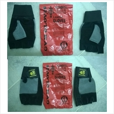 Gold Gym Fitness Glove+ Wrist Support (Sarung Tangan fitness)