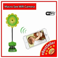 Macro See Sunflower Wifi Camera Baby Monitoring CCTV