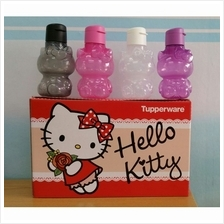 100% Original Tupperware Hello Kitty Eco Bottle Set (4) 425ml - 1 Set 4 Units
