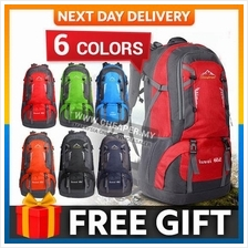 60L Sport Backpack Outdoor Hiking Backpack Athletic Sport Travel Backp