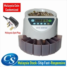 BANKER AUTO COIN SORTER COIN COUNTER MACHINE LCD DISPLAY MALAYSIA COIN