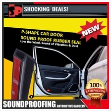 New 8th Generation Big P-Shape Sound Proof Rubber Seal (Premium)