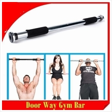 1 - Fitness Pull Up Chin Up Bar Gym Exercise 63-100cm 1.2KG