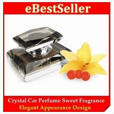 Deodorize Car Crystal Perfume Air Fresher Refresh Sweet Fragrance