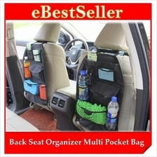 Multi Pockets Car Back Seat Organizer Hanging Holder Storage Bag