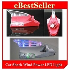 Car Cool Decorative Wind Power Shark with High Intensity LED Light