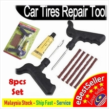 8PCS DIY Car Motorbike Tubeless Tyre Tire Puncture Instant Repair Kit