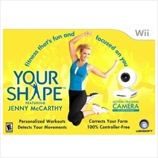 Your Shape with Camera - Wii Wii U