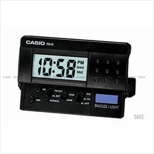 CASIO PQ-10-1 digital traveller alarm clock snooze black