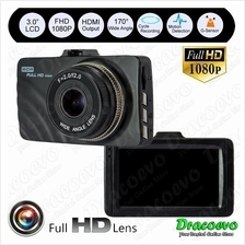 T629 Car DVR Full HD 1080P Recorder Dashcam Camera G-Sensor Video