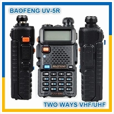 Original Baofeng UV-5R 5W 128CH VHF/UHF Dual Band UV5R Walkie Talkie