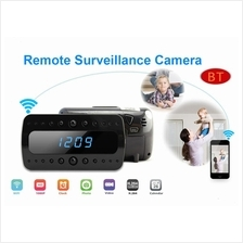 Multi-Function 1080P Wifi Spy Clock Camera H.264 With Night Vision