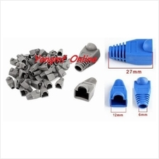 Ethernet CAT6/5 RJ45 Strain Plug Cover Boot (50pcs) (SK-016-BLUE)