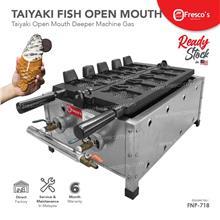 Waffle Taiyaki Open Mouth Fish Deeper Maker Machine GAS