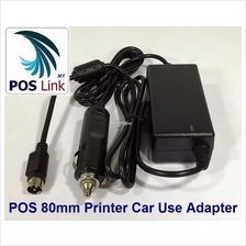 POS System - POS 80mm Thermal Printer Car Use Power Supply
