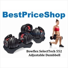 Bowflex SelectTech 552 Adjustable Dumbbell Weighlifting Fitness Gym