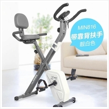 Foldable Gym Fitness Bike Real Magnetic Exercise Magnetic Bike Home