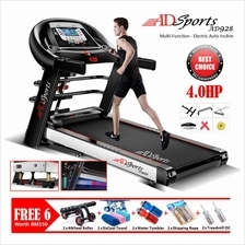 ADSports AD928 Quality Electric Auto/No Incline Treadmill +4Way Spring
