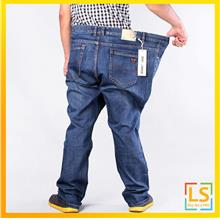 Plus Size for Men High Waist Long Jeans Pants Size from 36 to 52