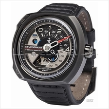 SEVENFRIDAY V3/01 V-Series Auto Additioner Disc NFC Leather Gunmetal