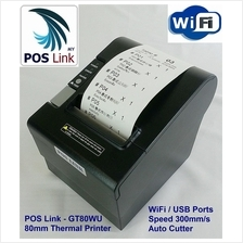 POS System - GT80WU 80mm Wifi / USB Thermal Printer,Auto Cutter