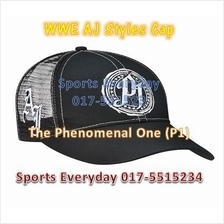 WWE WWF AJ Styles P1 (The Phenomenal One) Wrestling Caps Topi Gusti