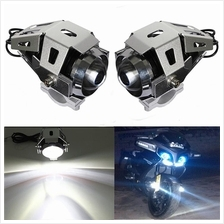 125W 3000LM Led U5 Motorcycle Cycle Head Light Driving Spot Fog Lamp