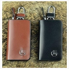 Mercedes - Benz Key Pouch Holder / Key Chain Genuine Leather (Type B)