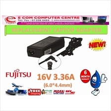 LAPTOP ADAPTER FOR FUJITSU SERIES 16V 3.36A(6.0MM*4.4MM)