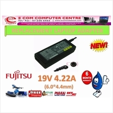 LAPTOP ADAPTER FOR FUJITSU SERIES 19V 4.22A(6.0MM*4.4MM)