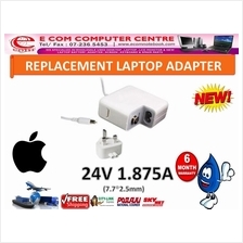 LAPTOP ADAPTER FOR APPLE SERIES MACBOOK 24V 1.875A (7.7MM*2.5MM)