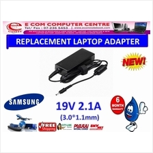 LAPTOP ADAPTER FOR SAMSUNG SERIES 19V 2.1A ( 3.0MM*1.1MM) )