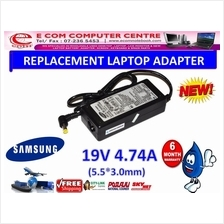 LAPTOP ADAPTER FOR SAMSUNG SERIES 19V 4.74A ( 5.5MM*3.0MM)