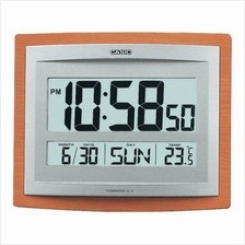 CASIO Digital Wall Clock Thermometer ID-15S-5