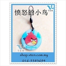 Angry Bird Copy Rewritable Writable ID keyfobs 125KHZ Proximity Token