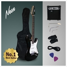 Neon Jumpstart Electric Guitar Package Complete Set