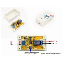 12V/24V DC Voltage detect Switch Auto on/off after car start/stop 15A Relay Mo