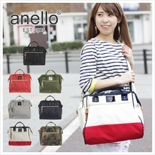 (SALE) ANELLO JAPAN Polyester Canvas 2 way Boston Bag (Big)